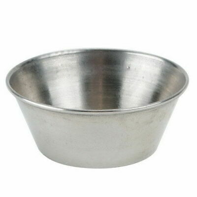 Winco SCP-15, 1.5-Ounce Stainless Steel Sauce Cup, 1-Dozen