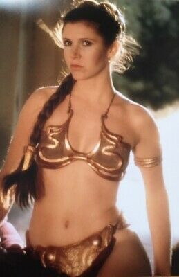 Carrie Fisher Star Wars Actress Poster A4 A3 A2 A1 Gift Present HCP002