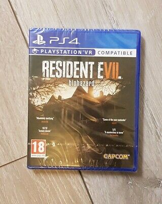 Resident Evil 7 Biohazard PS4 VR Game Sony PlayStation 4 New & Sealed
