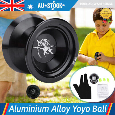 Professional Magic YoYo Magic Yo-Yo Toy Ball Bearings with 3 Strings & Glove