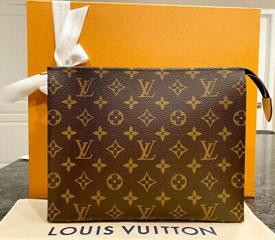 Authentic Louis Vuitton Toiletry Pouch 26 Brand New 2019 Monogram Canvas