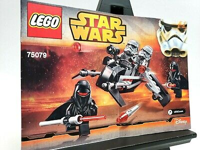 Lego Instruction Book Star Wars 75079 Shadow Troopers