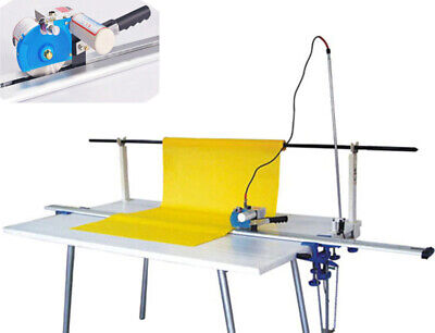 """TECHTONGDA High Speed Delay Function Fabric End Cutter 220V w/86"""" Rack"""