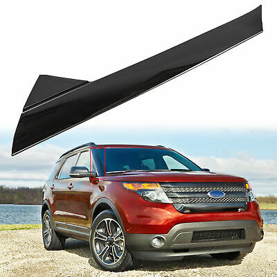 For 2011-19 Ford Explorer Windshield-Outer Trim Pillar Molding Passenger Side
