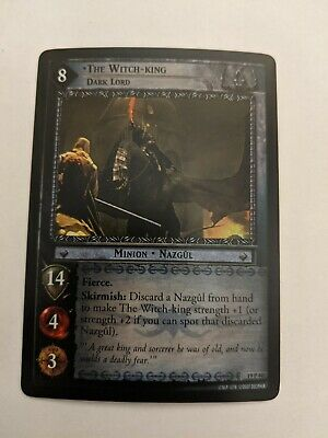 Conqueror of Arthedain 17R144 LoTR TCG RoS Rise Of Saruman The Witch-King
