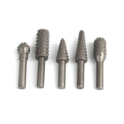 5Pcs Tungsten Steel Grinding Head Drill Diamond Burs Material Tungstenio Dremel
