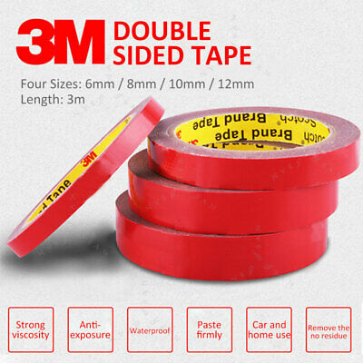 3M Car Strong Permanent Double Sided Super Sticky Versatile Roll Vehicle Tape AU
