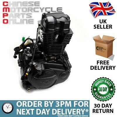 Engine Complete ZY125-E4 (ENG008) for Lexmoto, Sinnis (#008)