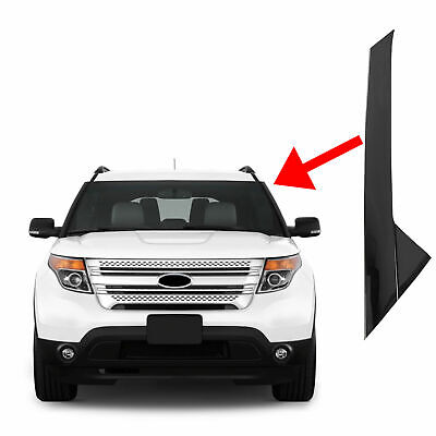 Driver Left Side Windshield-Outer Trim Molding Pillar For 2011-19 Ford Explorer