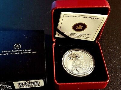 2013 Gem Proof $15 Maple of Peace Canadian Silver Coin