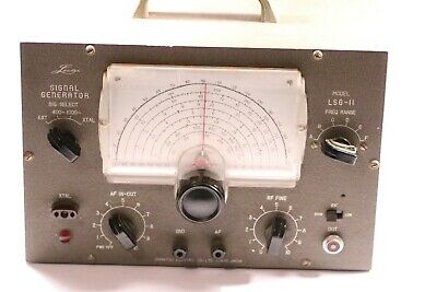 Ohmatsu Electric Co.: Leader Signal Generator LSG-11 Made in Japan