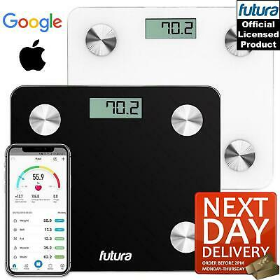 Bathroom Weight Digital Scales Smart Body Fat BMI Bluetooth Weighing Futura