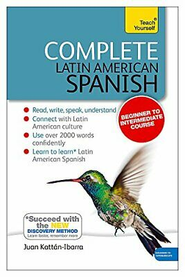 Complete Latin American Spanish Beginner to Intermediate Course Book and audio
