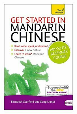 Get Started in Mandarin Chinese Absolute Beginner Course Book and audio suppor