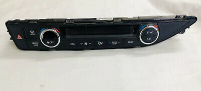 14-18 OEM Toyota Highlander Temp Control 55900-0E400 - Missing Buttons
