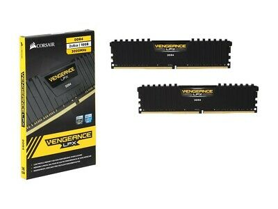 Corsair Vengeance LPX 16GB (2 x 8GB) (DDR4-3000) Memory Card
