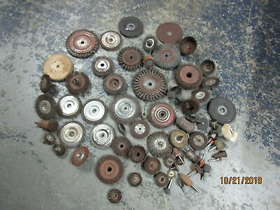 Lot of Grinding Wire Brush Wheels