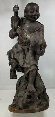 Antique Carved Chinese Japanese Root Wood Sculpture Immortal