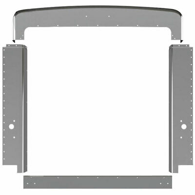 peterbilt 379 chrome grill surround all years front hood replacement shine new