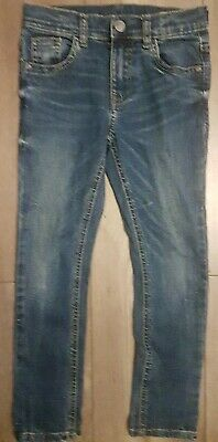 M&S Distressed Look Jeans. 6-7 Years