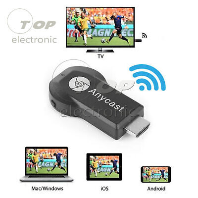 AnyCast M9 Plus WiFi Display Receiver HDMI 1080P TV DLNA Airplay Miracast New