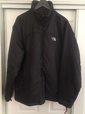 The North Face Men's QUILTED Insulated jacket Charcoal Gray , Size 2XLarge