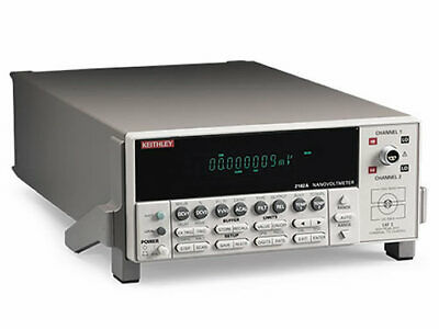 Keithley 2182A Dual-Channel Ultra-Low Voltage Nanovoltmeter NEW