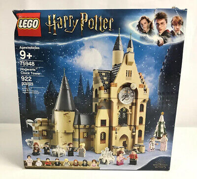 LEGO Harry Potter 75948 Hogwarts Clock Tower New in Damaged Box 100% Complete