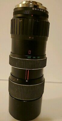 FOCAL AUTO ZOOM LENS f=80-200 mm 1:3.5 MC Camera Lens No.526015 Made in Japan