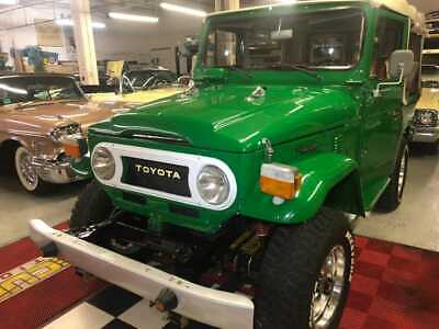 1980 Toyota FJ Cruiser  Toyota FJ40 1980 1968 Fully Restored  Green Convertible. More Than 100 Pictures