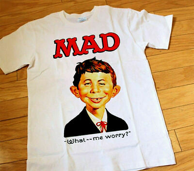 Officially Licensed MAD Magazine Alfred T-Shirt T-Shirt S-XXL Sizes