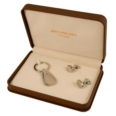 Cufflinks and Keychain Set, Jos Von Arx, EX20