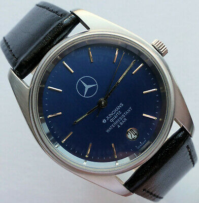 Mercedes Benz Classic Design Sport Car Accessory Junghans Made in Germany Watch