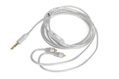 Green Audio Cable with mic For DUNU DK-3001 DK-4001 Falcon-C headphones