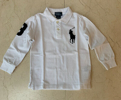 Genuine Ralph Lauren Polo Boys Long Sleeve T-Shirt  Age 4