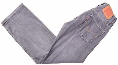 LEVI'S Boys 514 Jeans 11-12 Years W26 L26 Grey Cotton Slim Straight  EE04