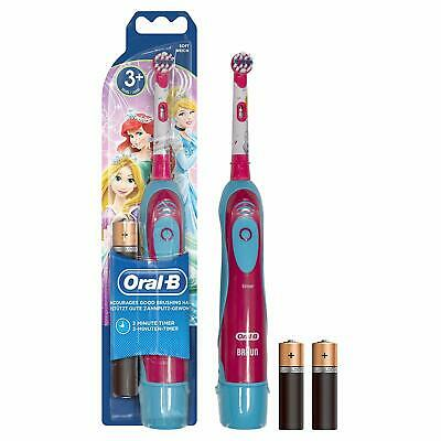 Braun Oral-B Stages Electric Toothbrush Disney Princes for Children Kids