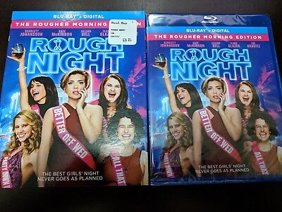 Rough Night - [BLURAY DISC ONLY!!!] [NO DIGITAL HD] W/SLIPCOVER!!