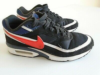 NIKE AIR MAX Bw Premium Usa Olympic Black Red White Navy