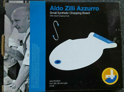 Ethos Aldo Zilli Azzurro Medium Synthetic Chopping Board with Steel Hanging Hook