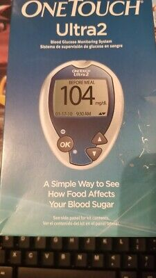 New ~ One Touch Ultra 2 Glucose Monitoring Meter