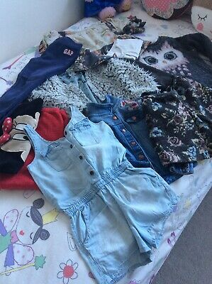 Girls Bundle 4-6 Years Various Brands Gap,zara,h&m,etc Lovely Cute Clothing