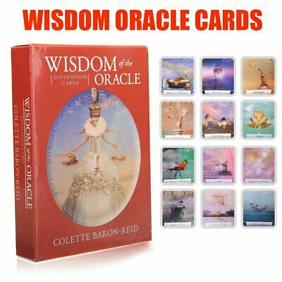 Wisdom of the Oracle Divination Cards Deck by Colette Baron-Reid Tarot Cards Q@#