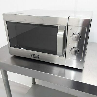 Commercial Microwave 1100 W Manual Oven Buffalo GK643