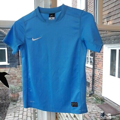 Girls Nike Blue Dri-fit T Shirt Size M 10-12yrs