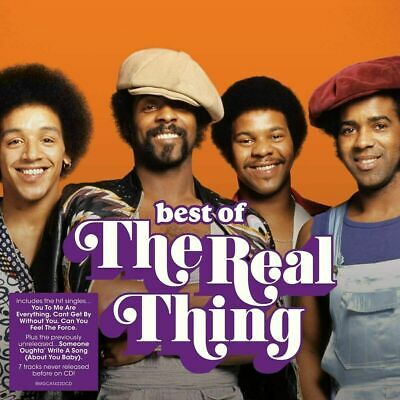 THE REAL THING THE BEST OF 2-CD SET (Released January 10th 2020) - Greatest Hits