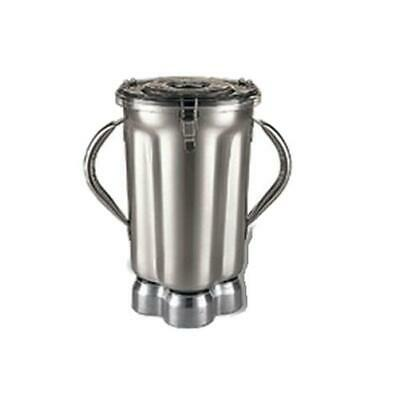 Waring CAC72 128 oz Stainless Blender Container w/ Lid & (2) Handles