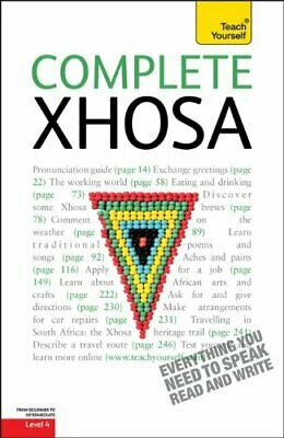 COMPLETE XHOSA: A TEACH YOURSELF GUIDE (TY: LANGUAGE By Silvia Skorge