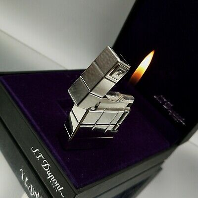 Rare ST DUPONT 60th Anniversary limited edition gas feuerzeug accendino lighter