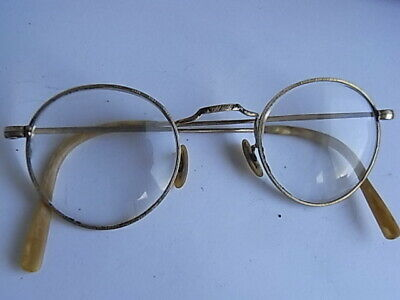 Antike Brille Gold Plated Stärke ca.+3,00